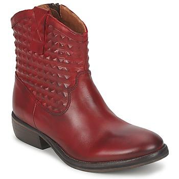 Zapatos Mujer Botas de caña baja Pastelle ELSA Burdeo