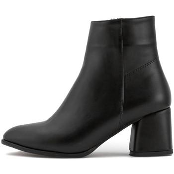 Zapatos Mujer Botas de caña baja Sole Sisters  Nero