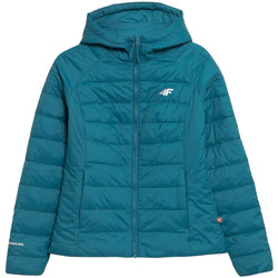 textil Mujer Plumas 4F Women's Jacket Bleu