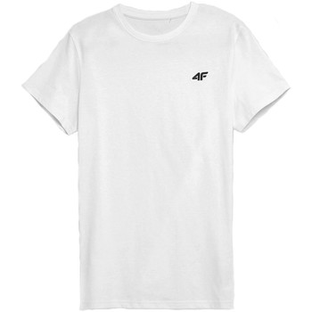 textil Hombre Camisetas manga corta 4F TSM352 Blanco