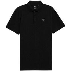 textil Hombre Polos manga corta 4F TSM356 Negros