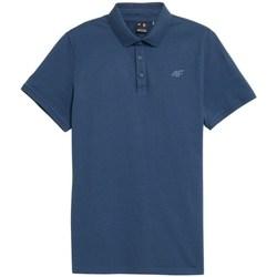 textil Hombre Polos manga corta 4F TSM355 Azul
