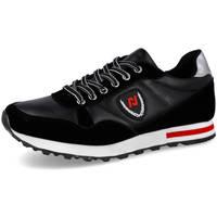 Zapatos Hombre Deportivas Moda L&R Shoes EV912 NEGRO