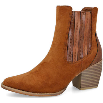 Zapatos Mujer Botas L&R Shoes 1541 CAMEL