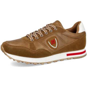 Zapatos Hombre Deportivas Moda L&R Shoes EV912 CAMEL