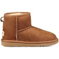 Zapatos Niña Botas UGG K CLASSIC MINI II Marrón