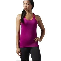textil Mujer Camisetas sin mangas Reebok Sport Wor Lbt Rosa
