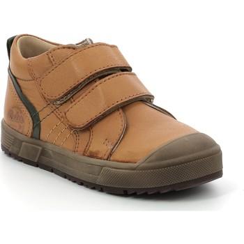 Zapatos Niños Zapatillas altas Aster Chaussures enfant  Biboc marron camel