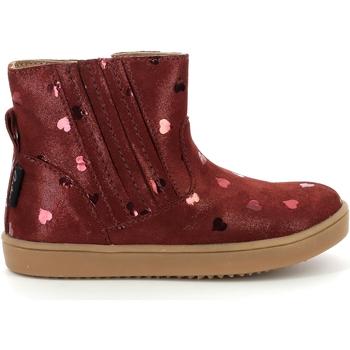 Zapatos Niña Botas de caña baja Aster Chaussures fille  Welsea bordeaux