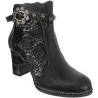Zapatos Mujer Botines Laura Vita Elceao 30 Cuero negro