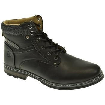 Zapatos Hombre Botas Lois BOTIN HOMBRE  NEGRO Negro