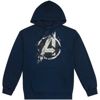 textil Hombre Sudaderas Avengers  Azul
