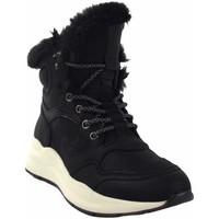 Zapatos Mujer Botas de caña baja Emmshu Botín señora  wester negro Negro
