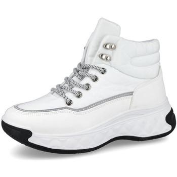 Zapatos Mujer Zapatillas altas L&R Shoes MS3003 BLANCO