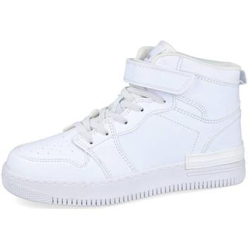 Zapatos Zapatillas altas Bubble Bobble A3444 BLANCO