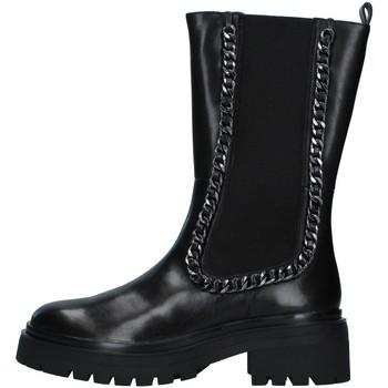 Zapatos Mujer Botas urbanas Apepazza F1COMBAT17/LEA NEGRO