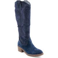 Zapatos Mujer Botas Voga L Boots Azul