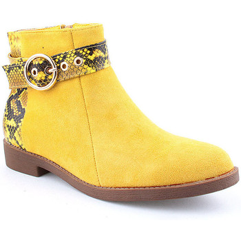 Zapatos Mujer Botines Voga A Ankle boots CASUAL Amarillo