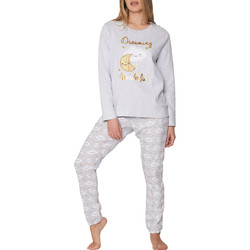 textil Mujer Pijama Admas Pantalones del pijama Dreaming Wonderful Gris Claro