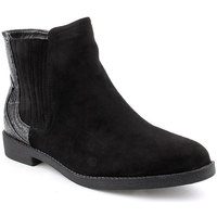 Zapatos Mujer Botines Voga A Ankle boots CASUAL Negro