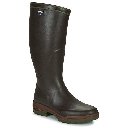 Zapatos especiales para hombres y mujeres Aigle PARCOURS 2 Oscuro