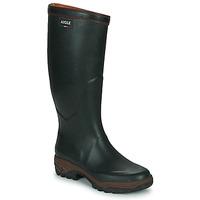 Zapatos Hombre Botas de agua Aigle PARCOURS 2 Verde