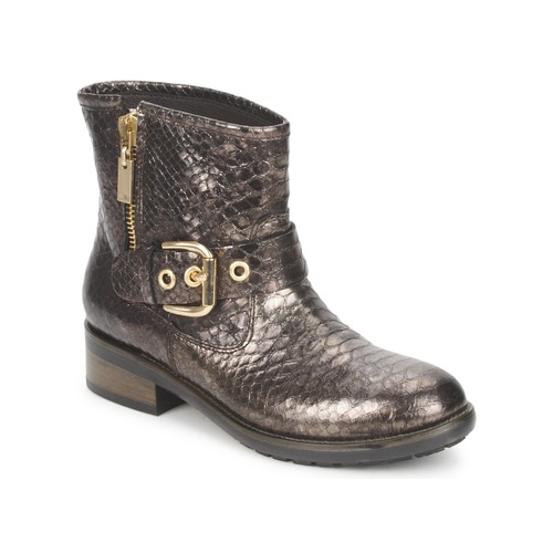 Zapatos Mujer Botas de caña baja Alberto Gozzi FAGGIO PITONE-METAL