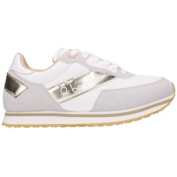 Zapatos Mujer Zapatillas bajas Benetton BTW123111 1090 Mujer Blanco blanc