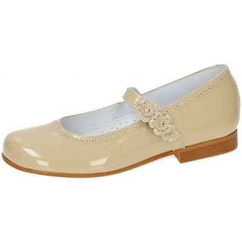 Zapatos Niña Bailarinas-manoletinas Bambinelli 25775-18 Marrón