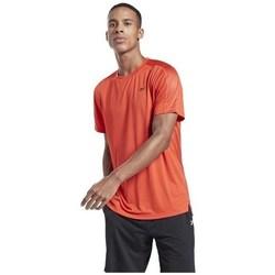 textil Hombre Camisetas manga corta Reebok Sport Workout Ready Tech De color naranja