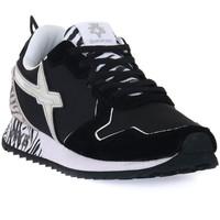 Zapatos Hombre Zapatillas bajas W6yz 1A06 JET W BLACK Nero