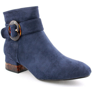 Zapatos Mujer Botines Voga L Ankle boots Clasic Azul