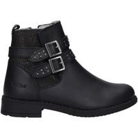 Zapatos Niña Botas Kickers 878980-30 NINELOW Negro