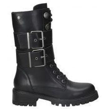 Zapatos Mujer Botas de caña baja Top3 BOTINES  21786 MODA JOVEN NEGRO Noir