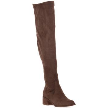 Zapatos Mujer Botas a la rodilla Steve Madden SADIE TAUPE Marrone