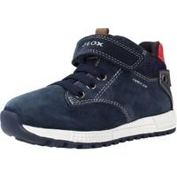 Zapatos Niño Botas Geox B ALBEN BOY Azul