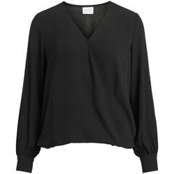 textil Mujer Tops / Blusas Vila 14063365 Nero