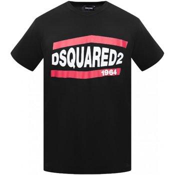 textil Hombre Camisetas manga corta Dsquared S74GD0639 - Hombres negro
