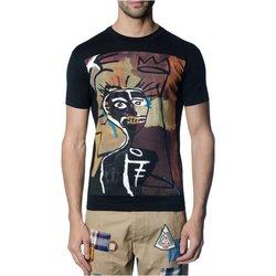 textil Hombre Camisetas manga corta Dsquared S71GD0621 - Hombres negro