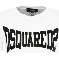 textil Hombre Camisetas manga corta Dsquared S71GD0918 - Hombres blanco