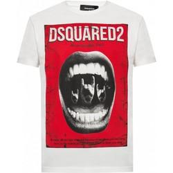 textil Hombre Camisetas manga corta Dsquared S74GD0476 - Hombres blanco