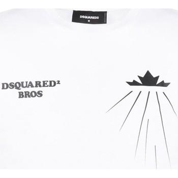 textil Hombre Camisetas manga corta Dsquared S71GD0885 - Hombres blanco