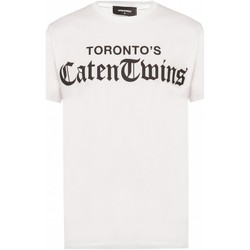 textil Hombre Camisetas manga corta Dsquared S71GD0778 - Hombres blanco