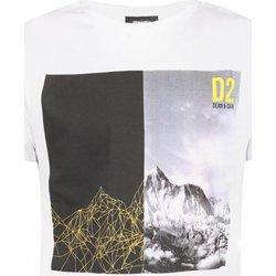 textil Hombre Camisetas manga corta Dsquared S74GD0265 - Hombres blanco