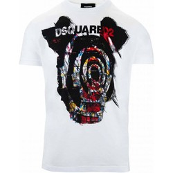 textil Hombre Camisetas manga corta Dsquared S71GD0804 - Hombres blanco