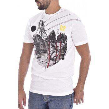 textil Hombre Camisetas manga corta Dsquared S74GD0266 - Hombres blanco