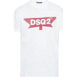 textil Hombre Camisetas manga corta Dsquared S71GD0596 - Hombres blanco