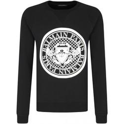 textil Hombre Jerséis Balmain SH03279 I204 - Hombres negro