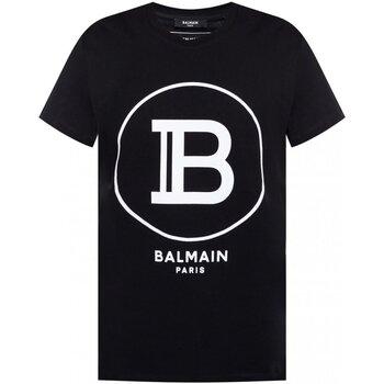 textil Hombre Camisetas manga corta Balmain TH11601 I201 - Hombres negro