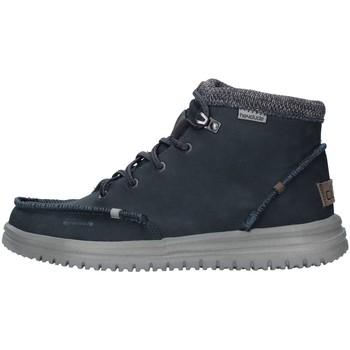Zapatos Hombre Zapatillas altas Hey Dude 11330 AZUL
